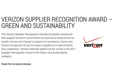 Upplier Recognition Award – Green and Sustainability (relan)