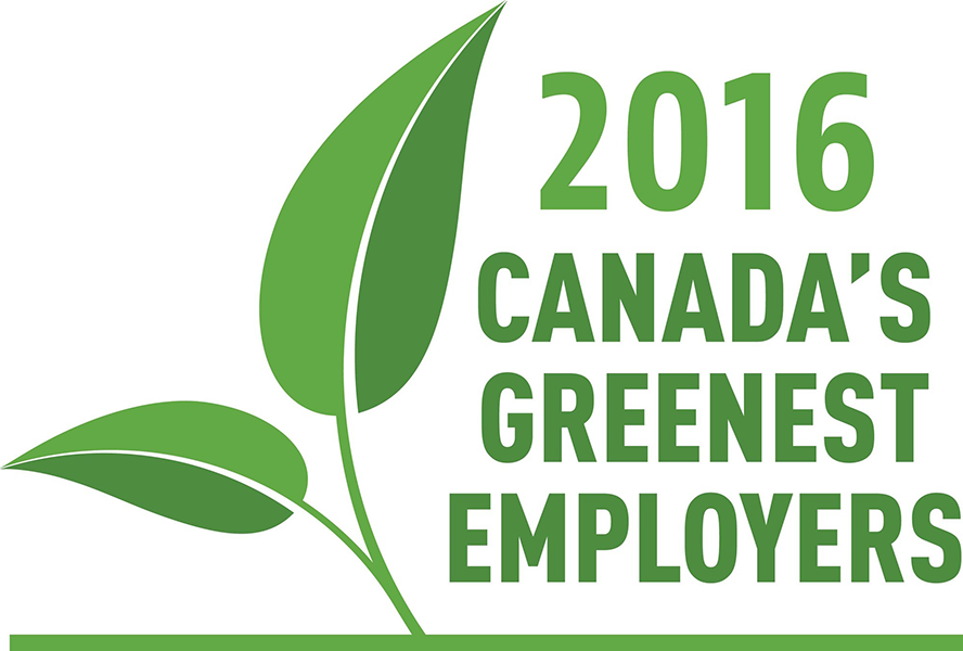 candada's greenest employers 2016
